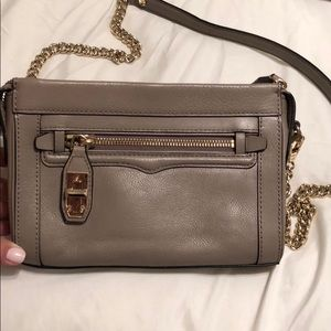 Rebecca minkoff cross body with chain strap